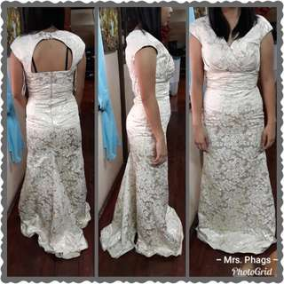 Brand new Elegang Long Gown XS SMALL