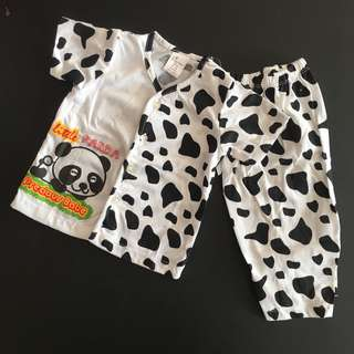 228-0011 Unisex Baby Cute Set Wear
