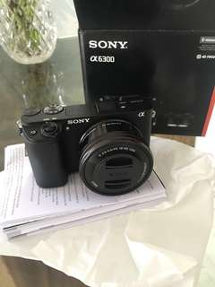 Brand new Sony A6300 with 16-50mm lens