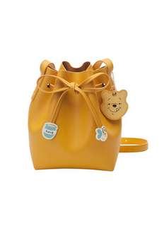 Instock disney x gracegift Winnie the Pooh yellow sling bag