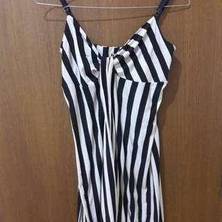 Preloved Mini Dress Lingerie Mat Satin Fit to L