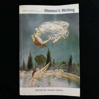 QPB Anthology of Women's Writing edited by Susan Cahill