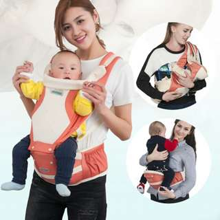 original Aierbao breathable kid carrier front facing hip seat A6613