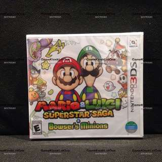 3DS Mario & Luigi Superstar Saga