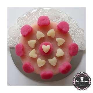Hearts Cake (Small)