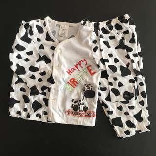 228-0009 Unisex Baby Set Wear