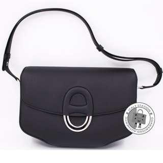 (NEW) Hermes H070360 CHERCHE-MIDI EPSOM SHOULDER BAG PHW, BLACK / CK89 全新 手袋 黑色 銀扣