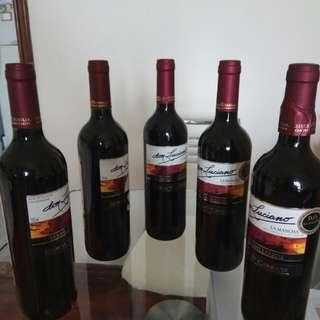 Red Wine 5支西班牙