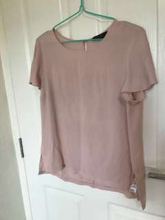 TO BLESS Dorothy Perkins UK 14 blush pink top