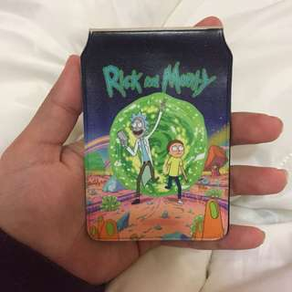 Rick & Morty Card Holder