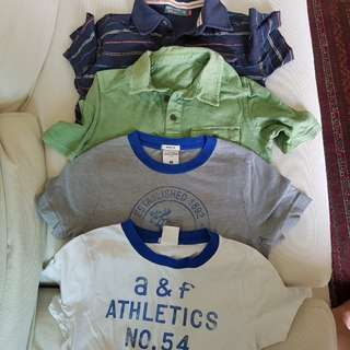 Bundled tshirts branded size 6 to 10