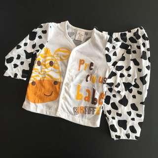 228-0010 Unisex Baby Set Wear