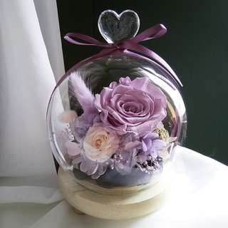 Heart dome - Lilac