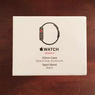 Apple Watch Series 3 42mm - Space Gray