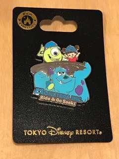 東京迪士尼怪獸公司襟章 - Tokyo Disneyland Monsters Inc Pin