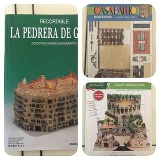 Gaudi Paper Models