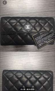 Chanel classic牛皮wallet 割讓