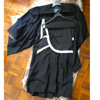 NTU Master of Mass Communication Graduation Gown for Sale!