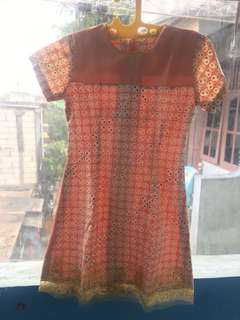 Dress batik untuk kondangan