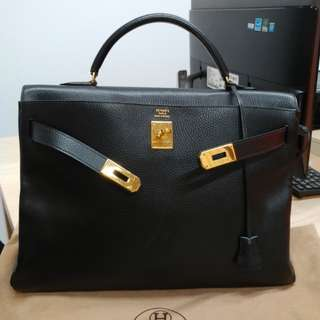 Hermes kelly 40 without strap