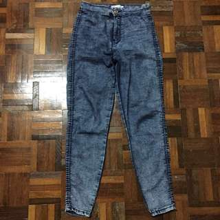 Bershka High Waisted Jeans