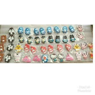 45pcs Cartoon Keychain New