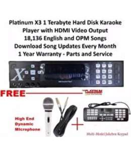 The Platinum Karaoke X-3 HDD