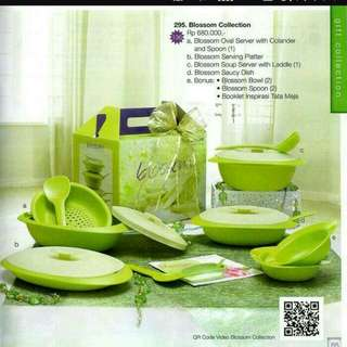 Blossom collection by tupperware