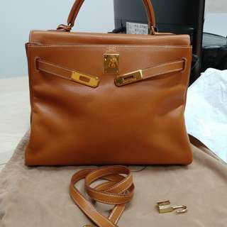 Hermes kelly 32 gold