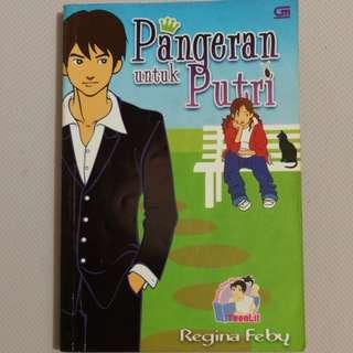 Novel pangeran untuk putri