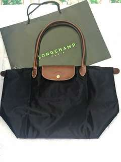 Sale!!!Authentic longchamp le pliage Small long handle