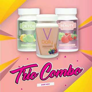 READY STOCK💕TRUDOLLY & VDOLLY COMBO SET.  Processing proceed upon full payment received via bank transfer