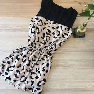 正韓豹紋洋裝