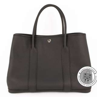 (NEW) Hermes GARDEN PARTY NEGONDA 36 TOTE BAG PHW, NOIR / CK89 全新 手袋 黑色 銀扣