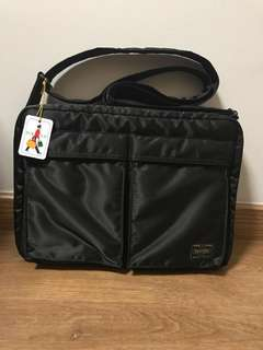 Head Porter Yoshida Japan Shoulder Bag in Black