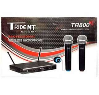 Trident TR800 Dual Wireless Microphone