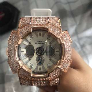 G-Shock with Swarovski Crystal