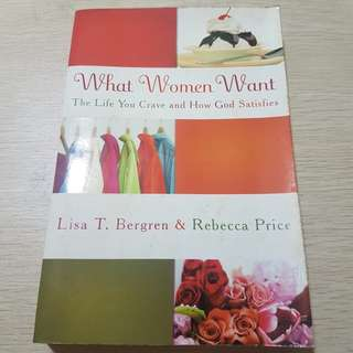 What Women Want - Lisa Bergen & Rebecca Price
