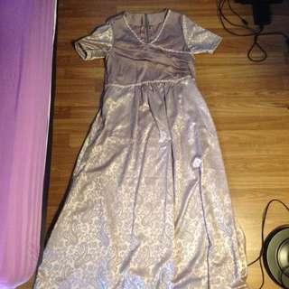 Baju gamis/ gaun ibu hamil