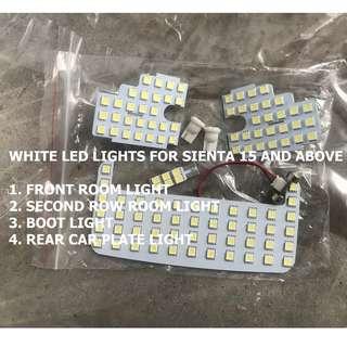 LED Room Lights For Toyota Sienta 15 & Above
