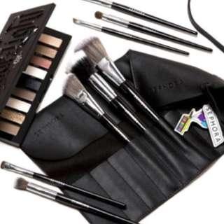 Sephora make up brush pouch
