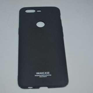 Imak Cowboy Quicksand Hard Case for Oneplus 5T (Black)