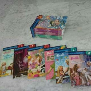 Step Into Reading Barbie Series