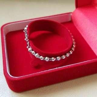 White Gold Bracelet PT950