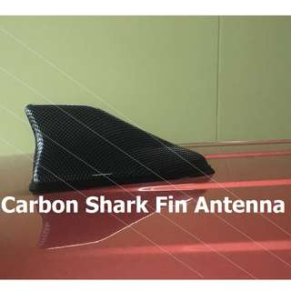 Carbon Shark Fin Antenna