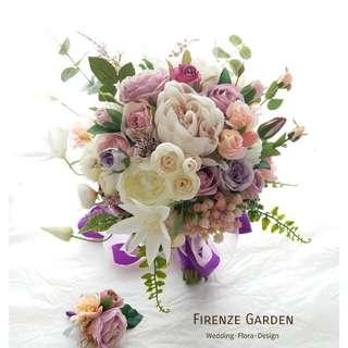 Firenze Garden 絲花花球設計