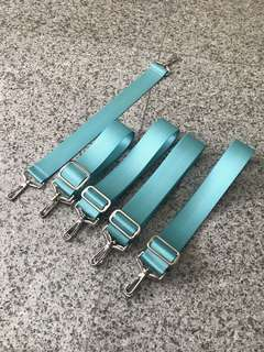 (Ready stock) 1.5 inch Aquamarine Seat Belt Strap For Jujube