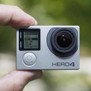 GoPro Hero 4 Silver (full set)