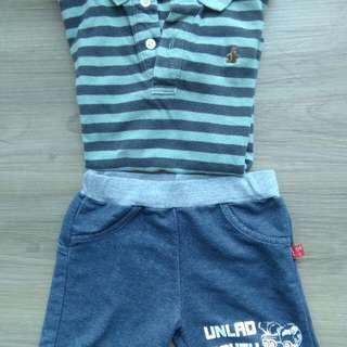baby gap男童衣,贈褲