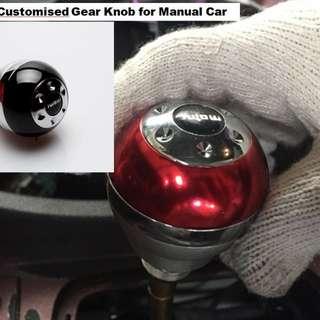 MOMO manual car gear knob easy install
